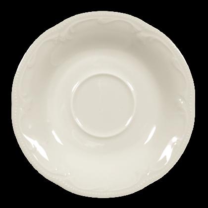 Rubin Untertasse zur Kaffeetasse 14,5 cm cream
