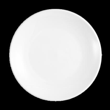 Modern Life Teller flach rund 21,5 cm weiß