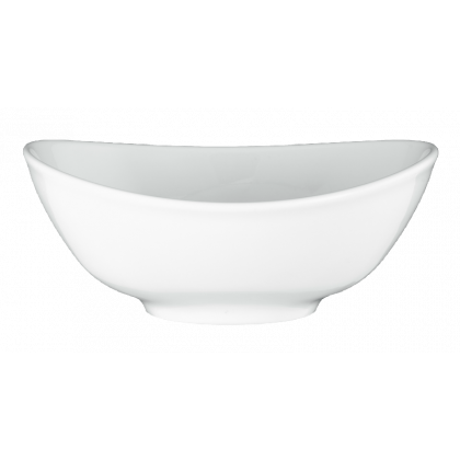 Modern Life Suppenbowl oval 16 cm weiß