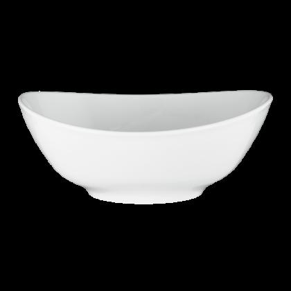 Modern Life Schüssel oval 21 cm weiß