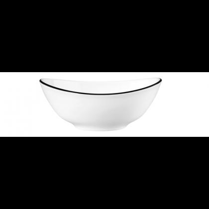 Modern Life Suppenschale oval 5238  16 cm Black Line