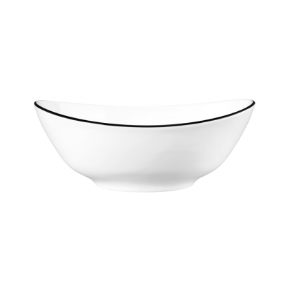 Modern Life Schüssel oval 5239  21 cm Black Line