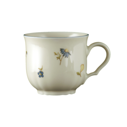 Marie-Luise Moccatasse Streublume blauer Rand