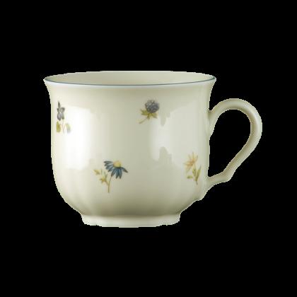 Marie-Luise Kaffeetasse 0,23 l Streublume blauer Rand