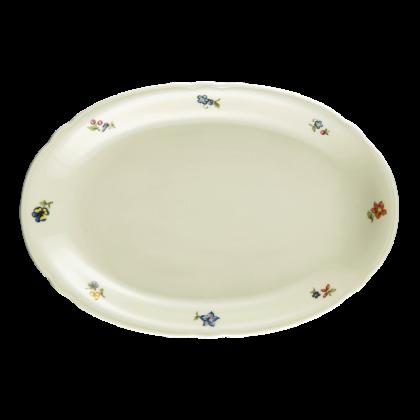 Marie-Luise Platte oval 31 cm Blütenmeer