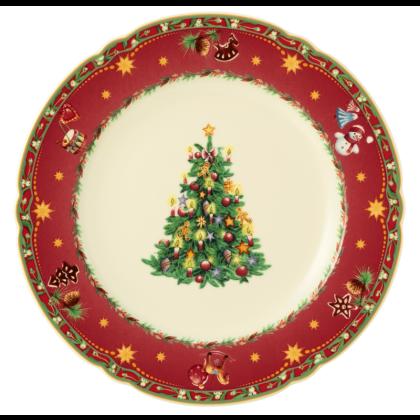 Marie-Luise Speiseteller rund 25 cm Weihnachtsnostalgie