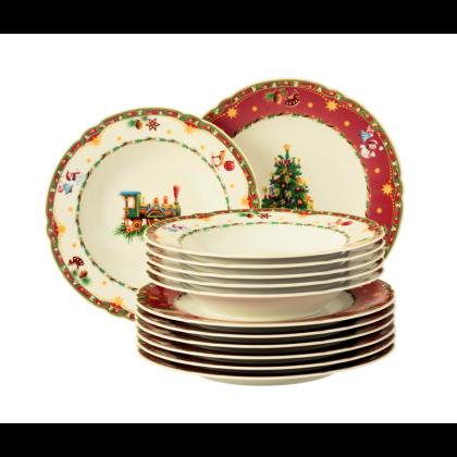 Marie-Luise Tafelservice 12-teilig Weihnachtsnostalgie