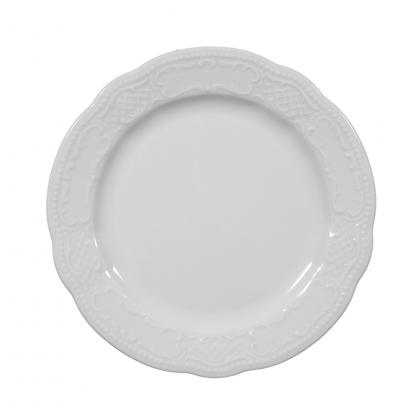 Salzburg Teller flach 15 cm weiß