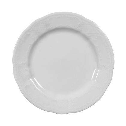 Salzburg Teller flach 17 cm weiß