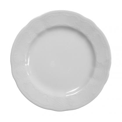 Salzburg Teller flach 19 cm weiß