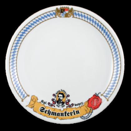 """Compact Speiseteller """"Schmankerl"""" 27 cm Bayern"""