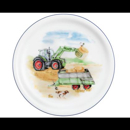 Compact Frühstücksteller rund 19 cm Mein Traktor