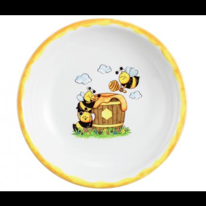 Compact Suppenteller rund 20 cm Fleißige Bienen