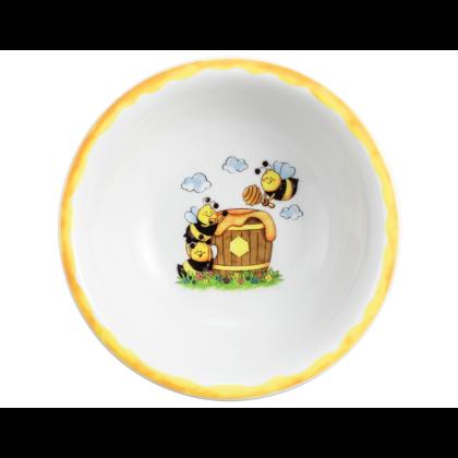 Compact Schüssel rund 16 cm Fleißige Bienen