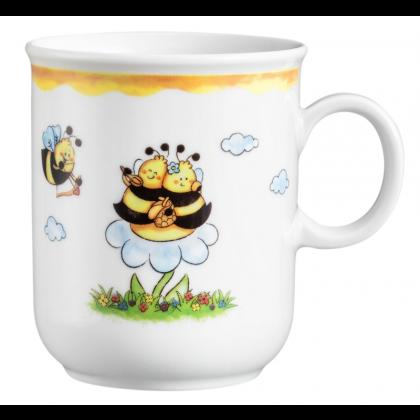 Compact Becher mit Henkel 0,25 l Fleißige Bienen