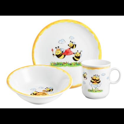 Compact Kinder-Set 3-teilig Fleißige Bienen