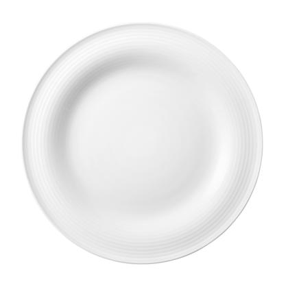 Beat Frühstücksteller rund 23 cm weiß