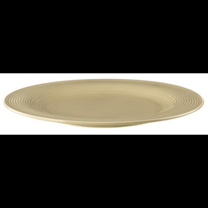 Beat Speiseteller rund 27,5 cm Color Glaze Sandbeige
