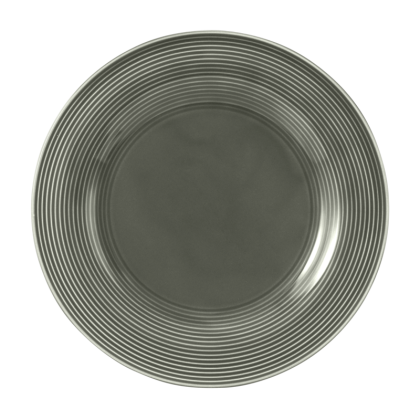 Beat Speiseteller rund 27,5 cm Color Glaze Perlgrau