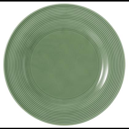 Beat Speiseteller rund 27,5 cm Glaze Salbeigrün