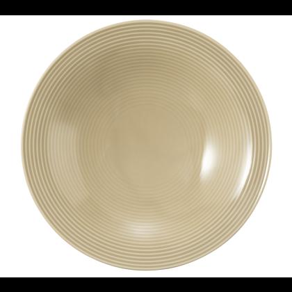 Beat Suppenteller rund 22,5 cm Color Glaze Sandbeige