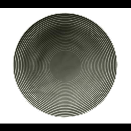 Beat Suppenteller rund 22,5 cm Color Glaze Perlgrau
