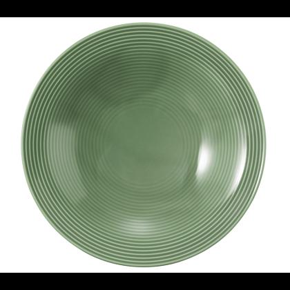 Beat Suppenteller rund 22,5 cm Glaze Salbeigrün