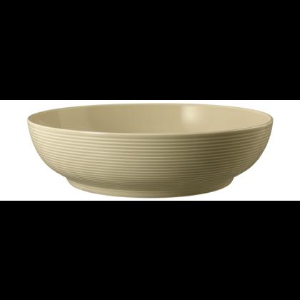 Beat Foodbowl 25 cm Glaze Sandbeige