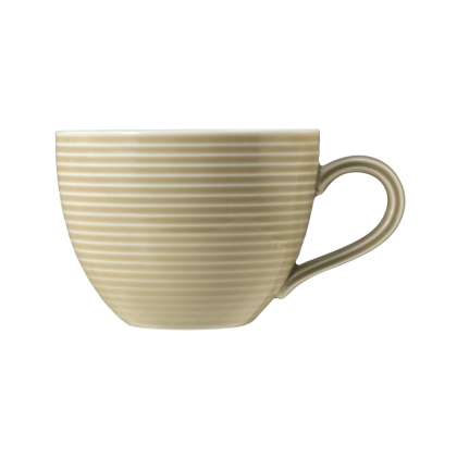 Beat Kaffeetasse 0,26 l mit Relief Glaze Sandbeige