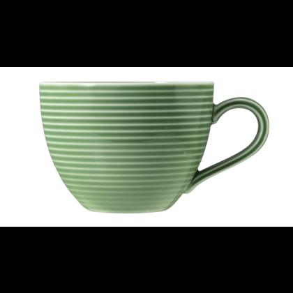 Beat Kaffeetasse 0,26 l mit Relief Glaze Salbeigrün