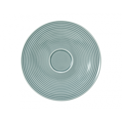 Beat Kombi-Untertasse groß 16,5 cm Color Glaze Arktisblau