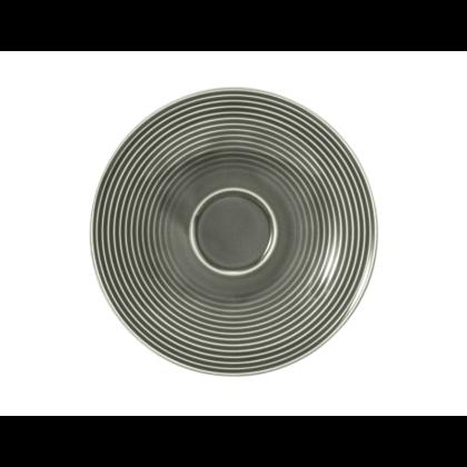 Beat Kombi-Untertasse groß 16,5 cm Color Glaze Perlgrau