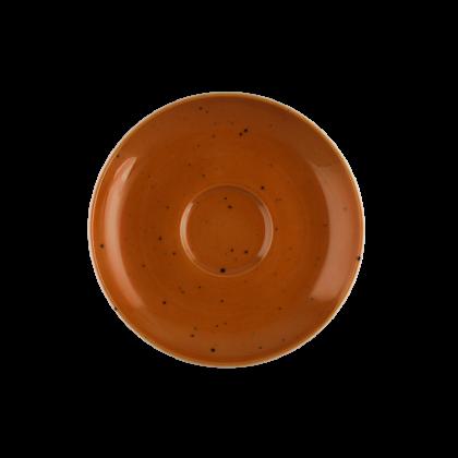 Coup Fine Dining Untertasse zur Espressotasse 12 cm Country Life terracotta