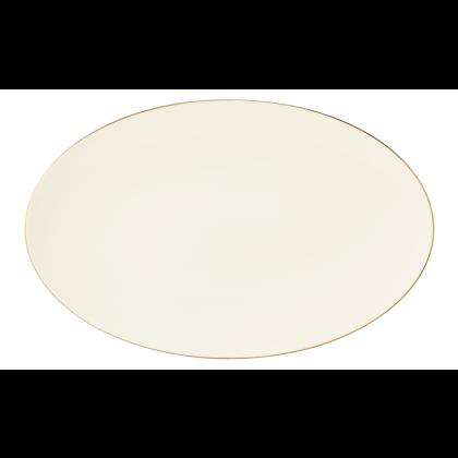 Medina Servierplatte oval 40x25,5 cm Gold
