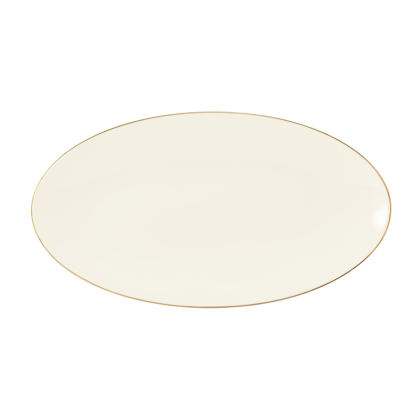 Medina Servierplatte oval 33x18 cm Gold