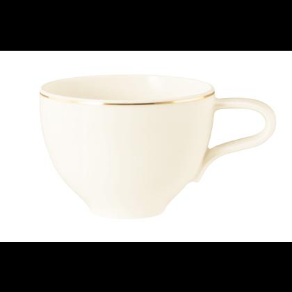 Medina Milchkaffeeobertasse 0,35 l Gold