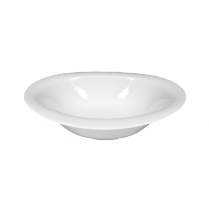 Top Life Schale oval hoch 21 cm weiß