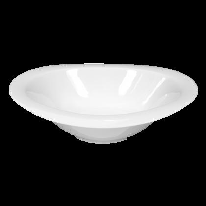 Top Life Schale oval 27 cm weiß