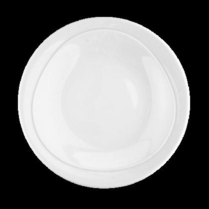 Trio Frühstücksteller 23 cm weiß