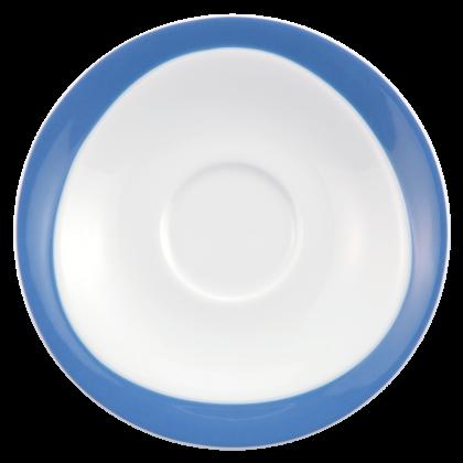 Trio Untertasse zur Frühstückstasse 17,5 cm Blau