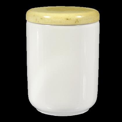 Lukullus Dose 1045 mit Holzdeckel weiß