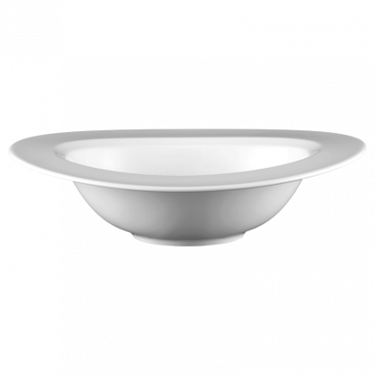 Mandarin Bowl 28 cm weiß