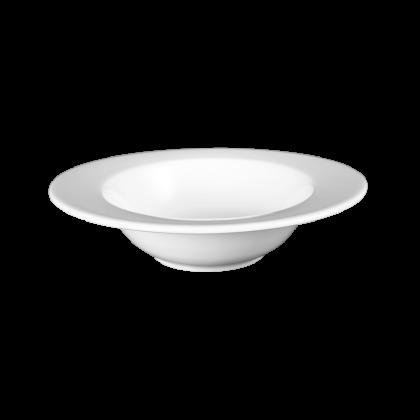 Mandarin Dessertschale oval 15 cm weiß