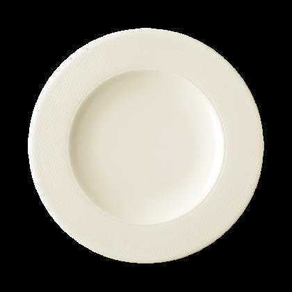 Diamant Teller flach 17 cm cream