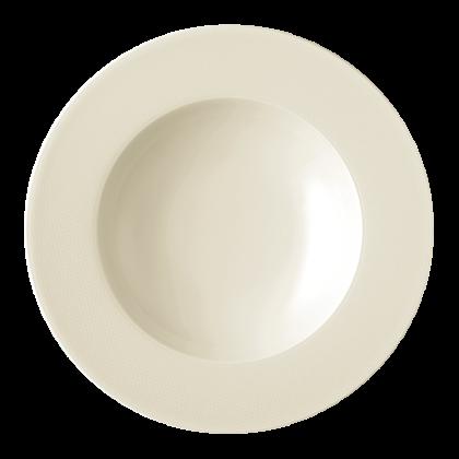 Diamant Teller tief 23 cm cream