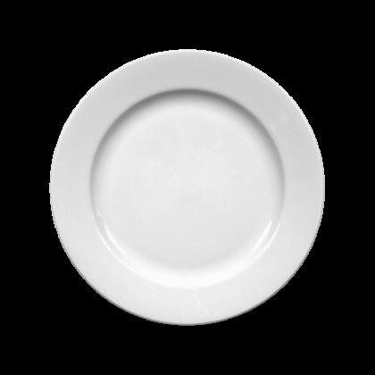 Meran Teller flach 15 cm weiß