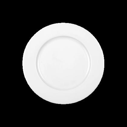Meran Teller flach 23 cm weiß
