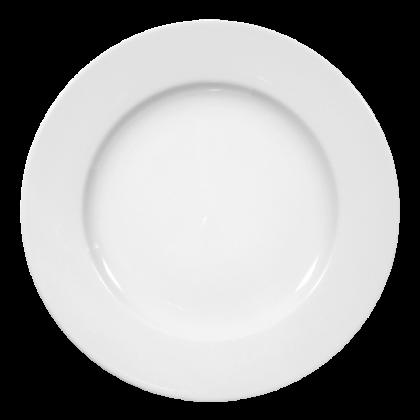 Meran Teller flach 30 cm weiß