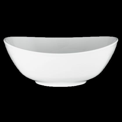 Meran Schüssel oval 5240 25,5 cm weiß