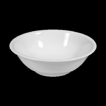 Meran Schüssel rund 20 cm weiß